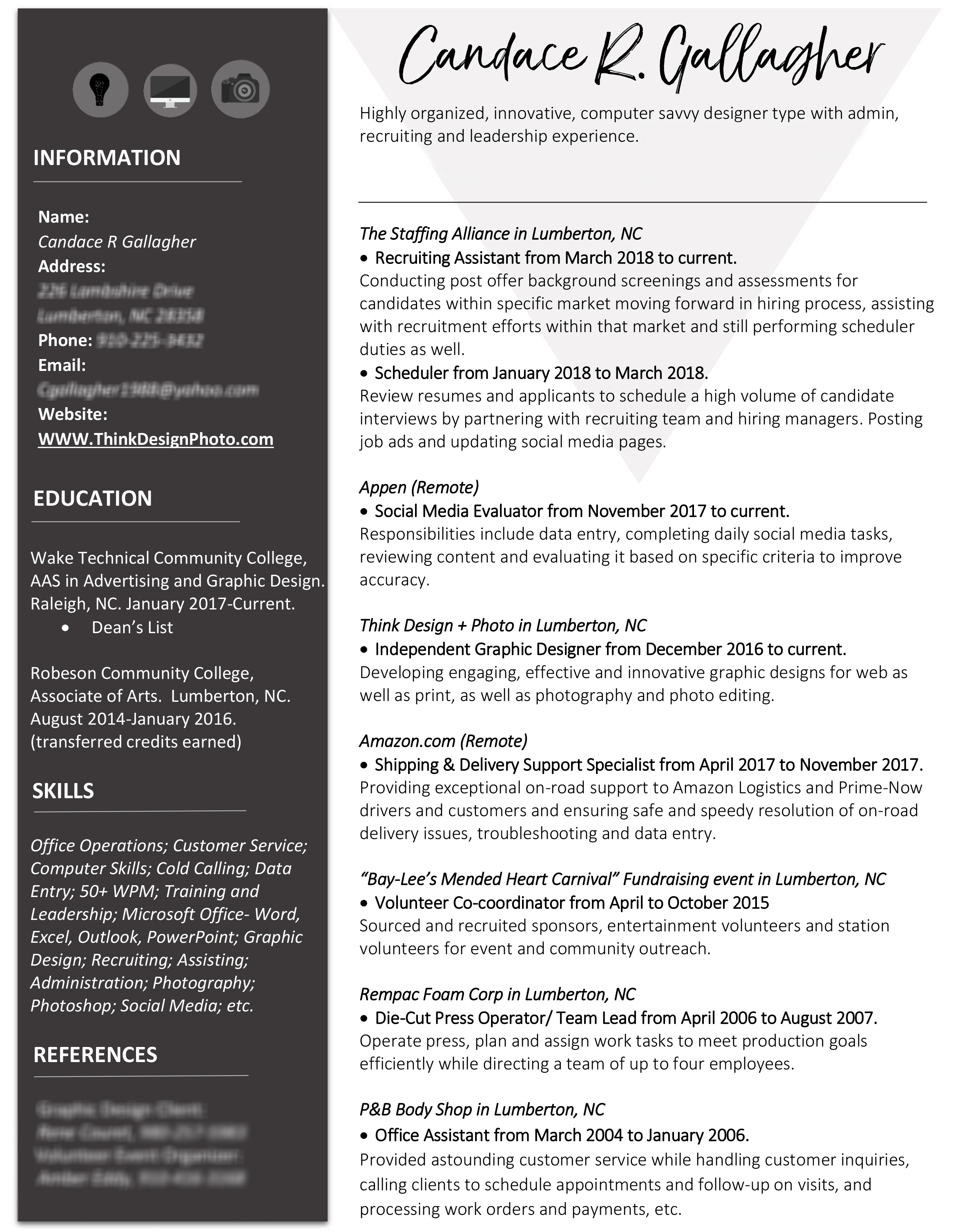 Resume – Think Design + Photo